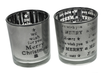 Merry Christmas Candle Holder image