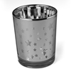 Silver Metallic Star Candle Holder Image