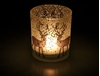 Winter Reindeer Candle Container Image