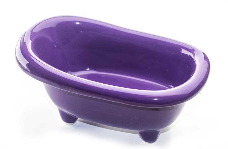 Ceramic bath tub the candle making shop for Porcelain on steel bathtub review