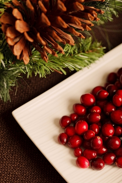 Mulled Pear And Cranberry Punch Image
