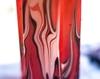 Bold Marbling Dyed Candle Image