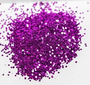Cerise Candle Glitter Image