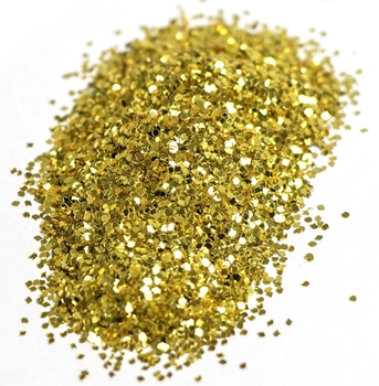 Gold Colour Candle Glitter image