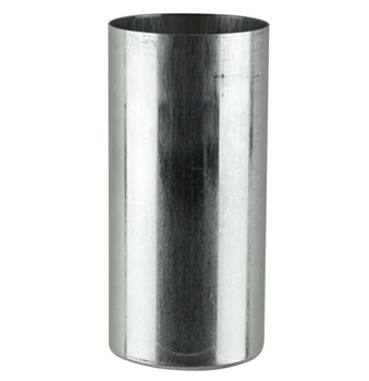 Round Pillar Metal Candle Mould 75x150mm image