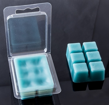 Clamshell wax melts mould image