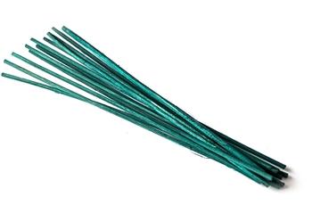 Jade Green Bamboo Reeds Image