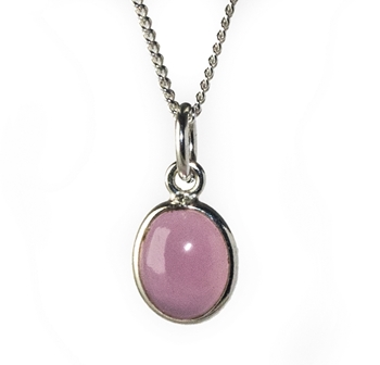 Rose Quartz Gemstone Pendant Image