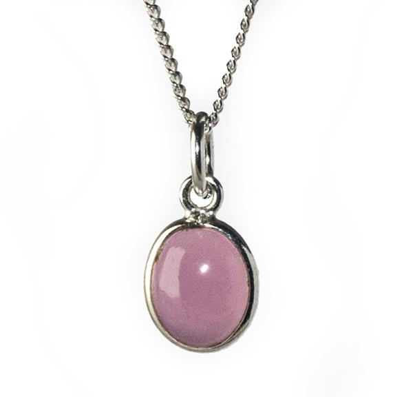 Rose Quartz Gemstone Pendant Image