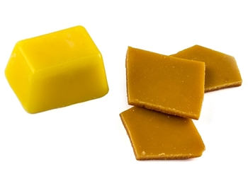 Primary Yellow Candle Dye Chips Picture