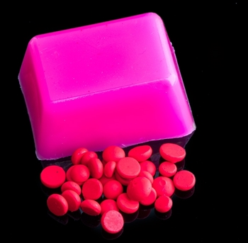 Fluorescent Pink Dye Pellets picture