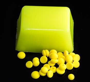 Fluorescent Yellow Dye Pellets Picture