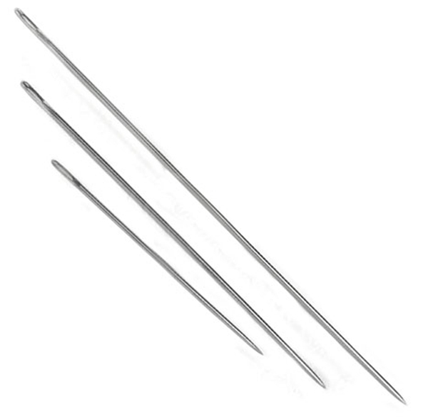 Wick needle selection of sizes picture