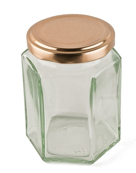 Picture of Hexagonal Candle Jar - very large