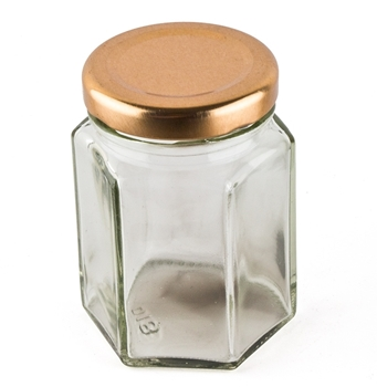 Picture of Hexagonal Candle Jar - Medium