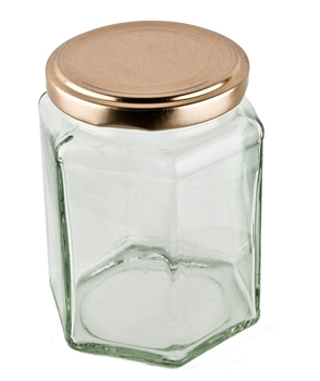 Picture of Hexagonal Candle Jar - Large
