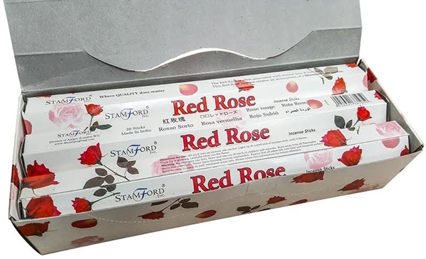 Bumper Box of Red Rose incense image