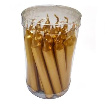 Bulk mini gold candles image