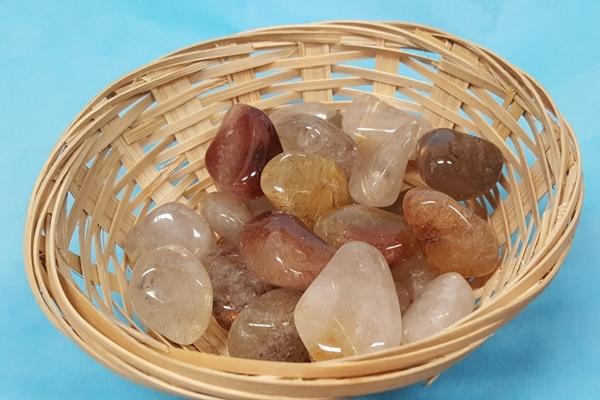 Rutilated Quartz Crystals Image
